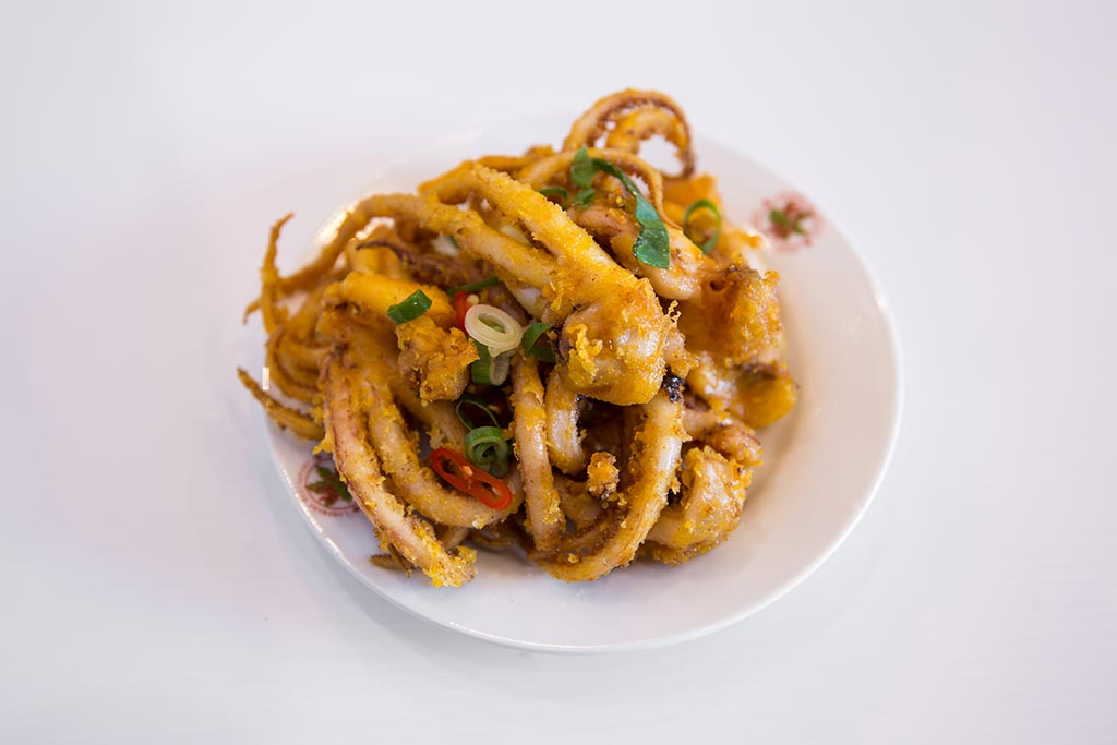 Landmark Dish Deep fried squid tentacles - Deep-fried Squid Tentacles